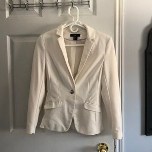 Cream/ off white coloured blazer